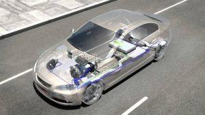 Auto con freno regenerativo