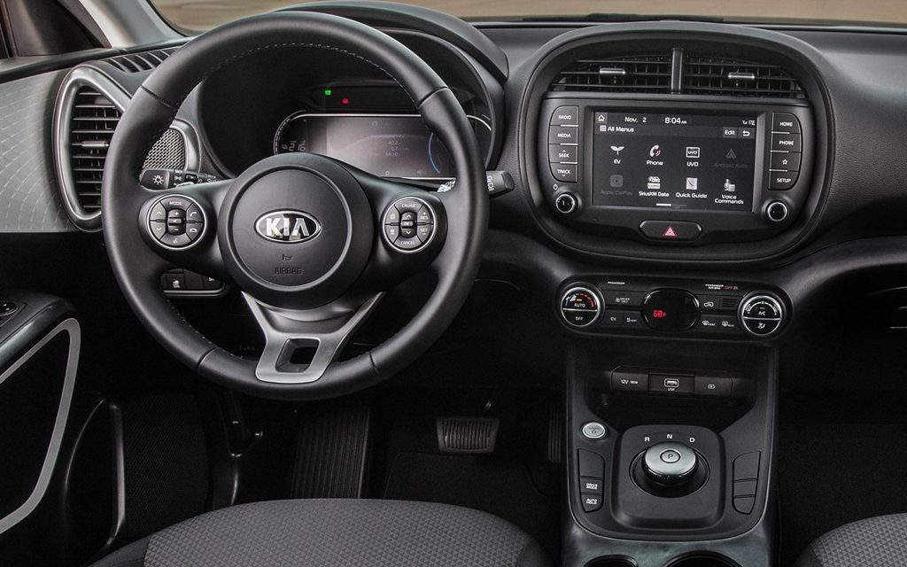 Dashboard kia soul