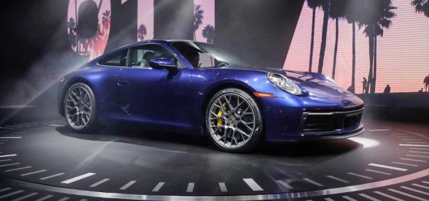 Porsche-exhibición-Auto-Show-Los-Ángeles-2019