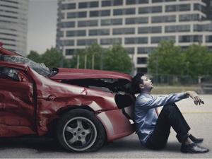 choque de auto