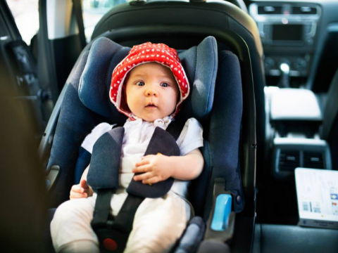 viaje seguro de bebè