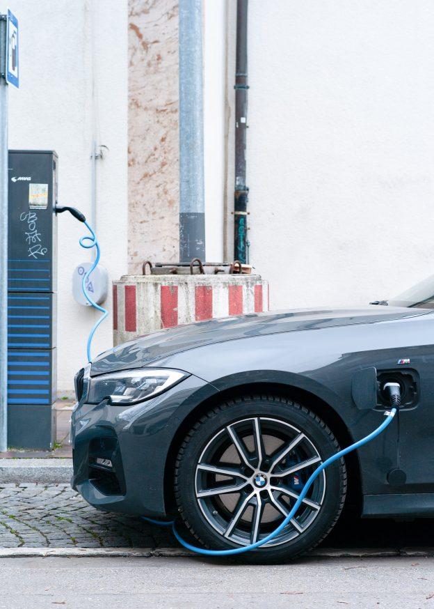 Viaje en auto eléctrico