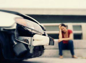persona involucrada en un accidente automovilístico