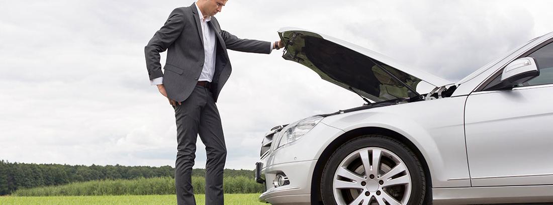 tu vehículo tiene una avería