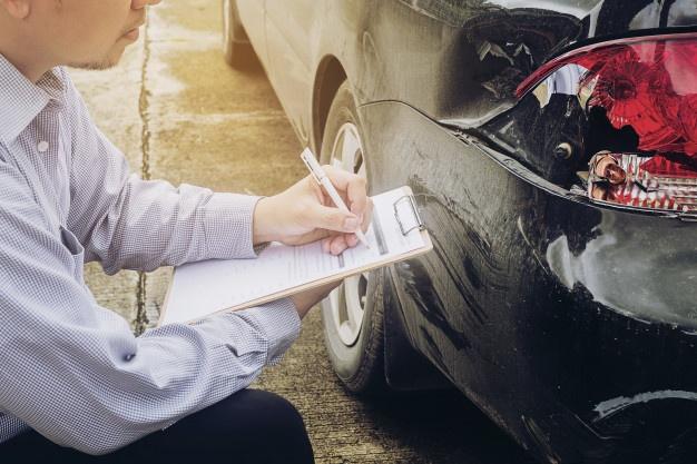 Accidente de auto o avería
